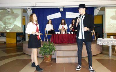 Praznovanje Cankarjevega leta na Ekonomski in trgovski šoli Brežice