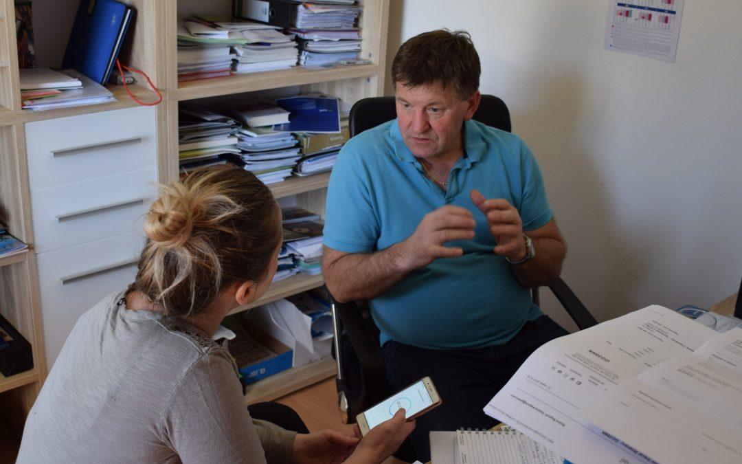 Intervju z gospodom Francem Bogovičem