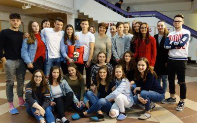 Predaja ključa na Ekonomski in trgovski šoli Brežice